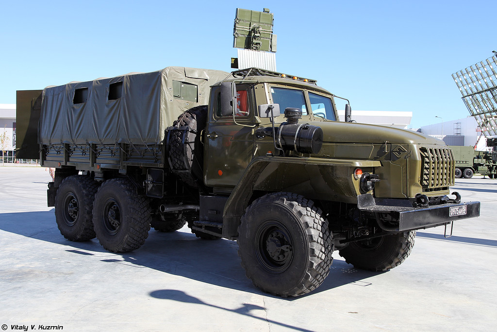 Урал-4320КДЗ (Ural-4320KDZ armored vehicle)