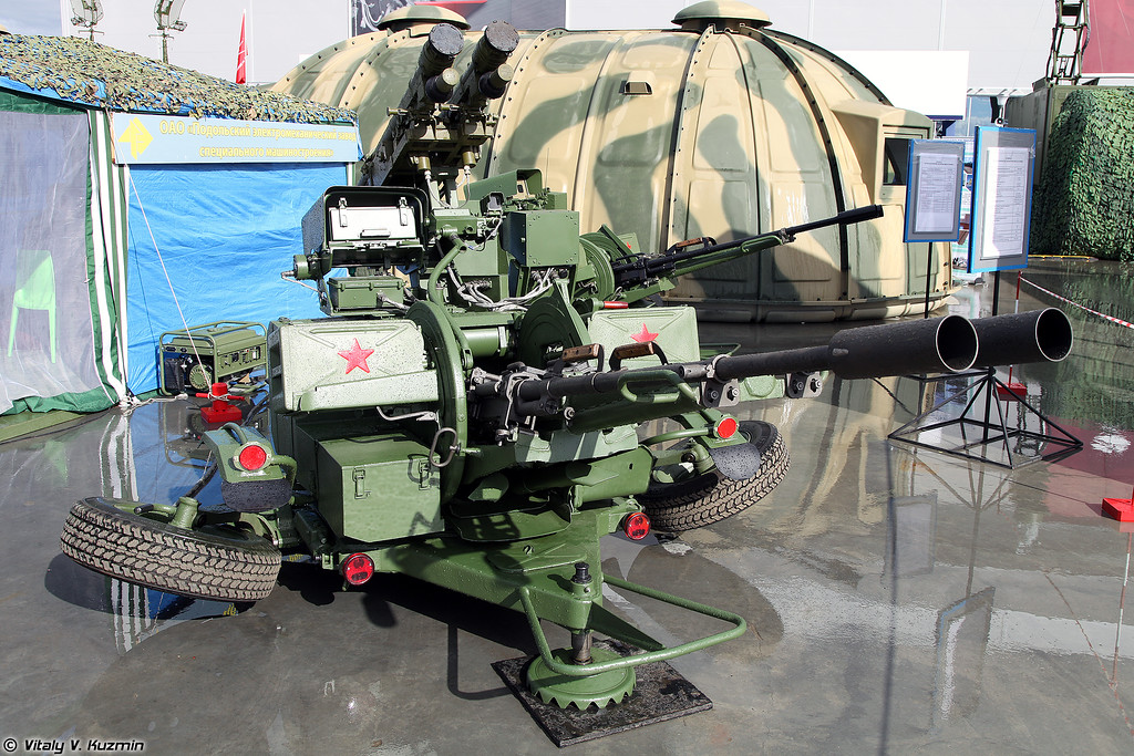 Установка ЗУ-23/30М1-3 (ZU-23/30M1-3 upgraded system)