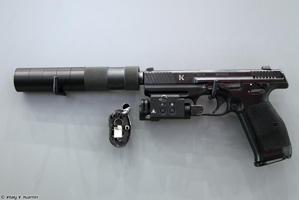 9х19 пистолет Лебедева ПЛ-15 (9x19 Lebedev pistol PL-15)