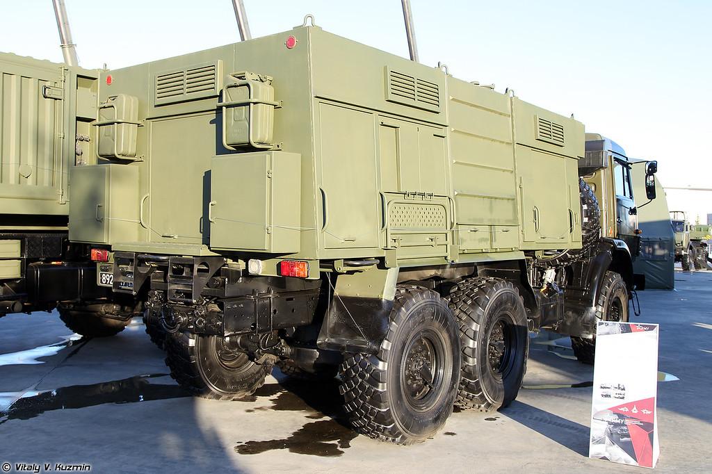 Дымовая машина ТДА-3 (TDA-3 smoke vehicle)