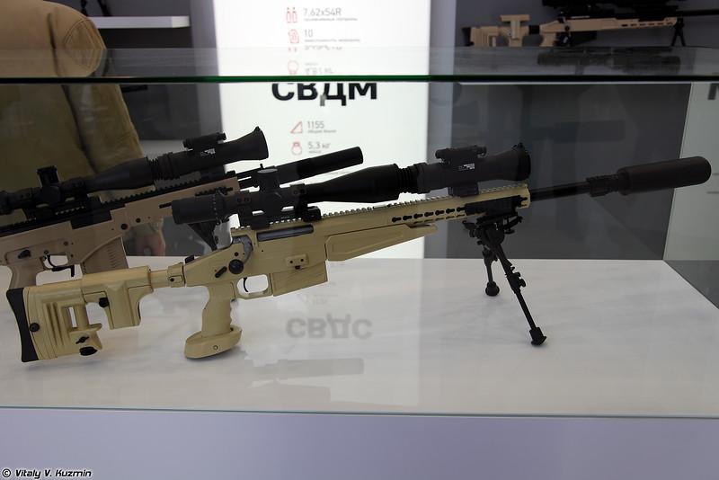 Снайперская винтовка ВСВ-338 (VSV-338 sniper rifle)