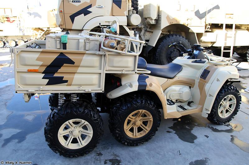 Мобильный 82-мм миномёт 2Б24 на базе мотовездехода РМ-500 6х4 (82mm mortar 2B24)