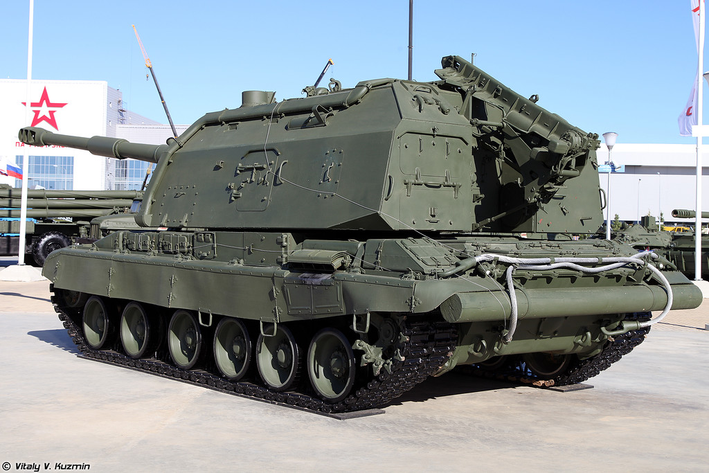 САУ 2С19 Мста-С (2S19 Msta-S self-propelled howitzer)