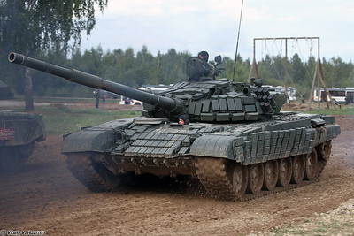 Танк Т-72Б1 (T-72B1 main battle tank)