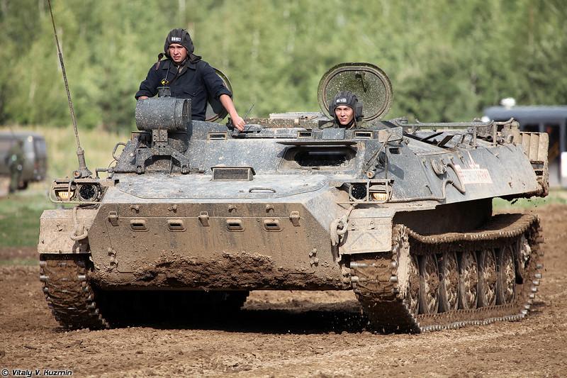 Боевая машина 9П149 ПТРК 9К114 Штурм-С (9P149 combat vehicle of 9K114 Shturm-S ATGM system)