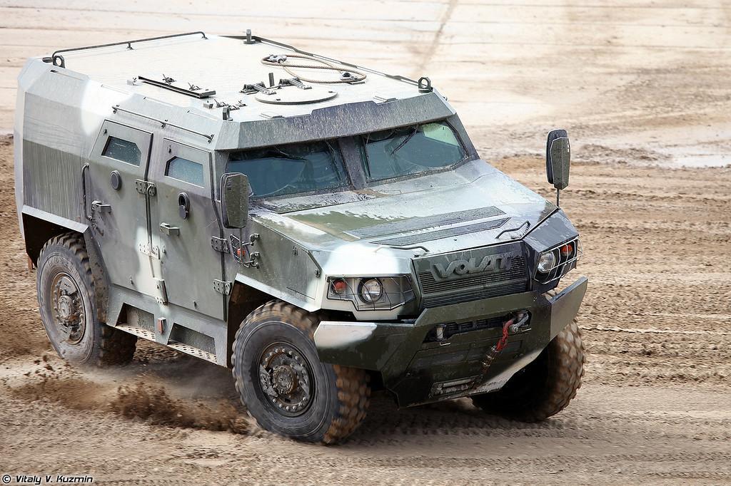 Бронеавтомобиль МЗКТ-490100 Volat V-1 (MZKT-490100 Volat V-1 armored vehicle)