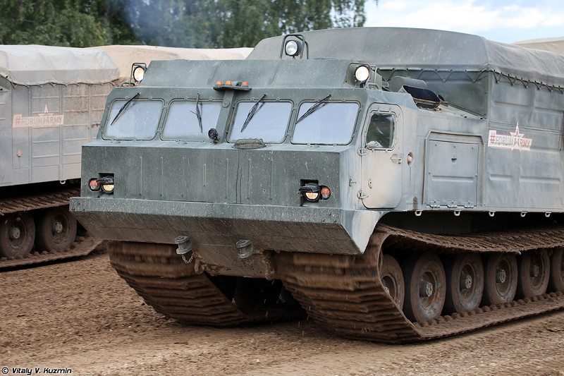 Транспортер ДТ-30П (DT-30P tracked vehicle)
