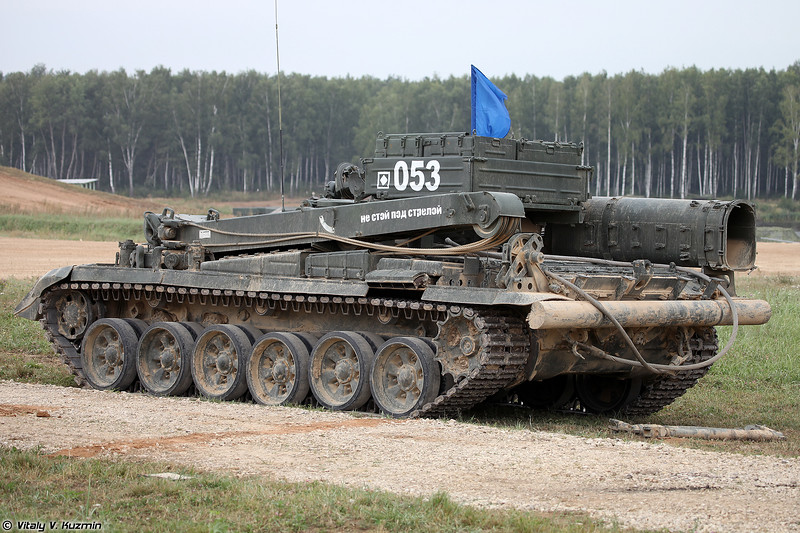 БРЭМ-1 (BREM-1 armored recovery vehicle)