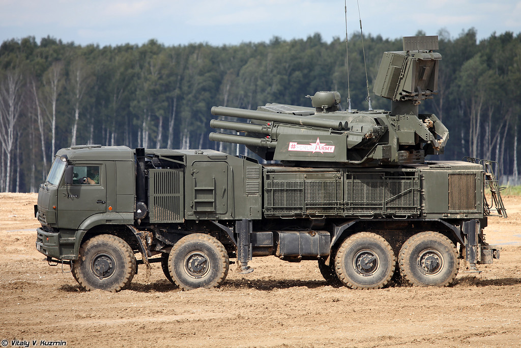ЗРПК 96К6 Панцирь-С (96K6 Pantsir-S)