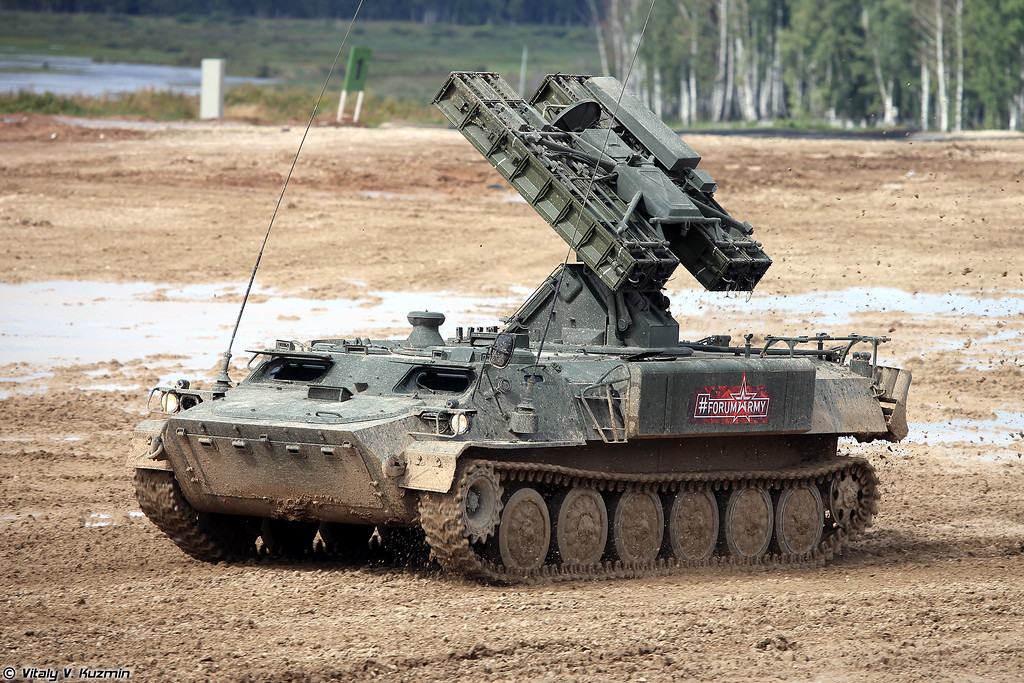 ЗРК 9К35М3 Стрела-10М3 (9K35M3 Strela-10M3 SAM system)