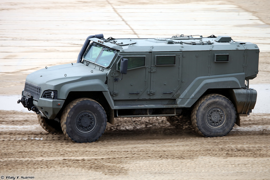 Бронеавтомобиль К-53949 / КАМАЗ-53949 Тайфун-К (K-53949 / KAMAZ-53494 Typhoon-K armored vehicle)