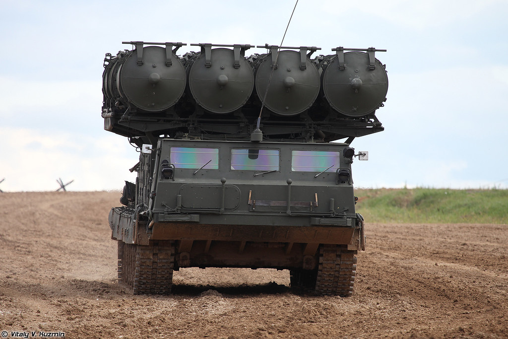 Пусковая установка 9А83 ЗРС С-300В (9A83 TELAR S-300V system)