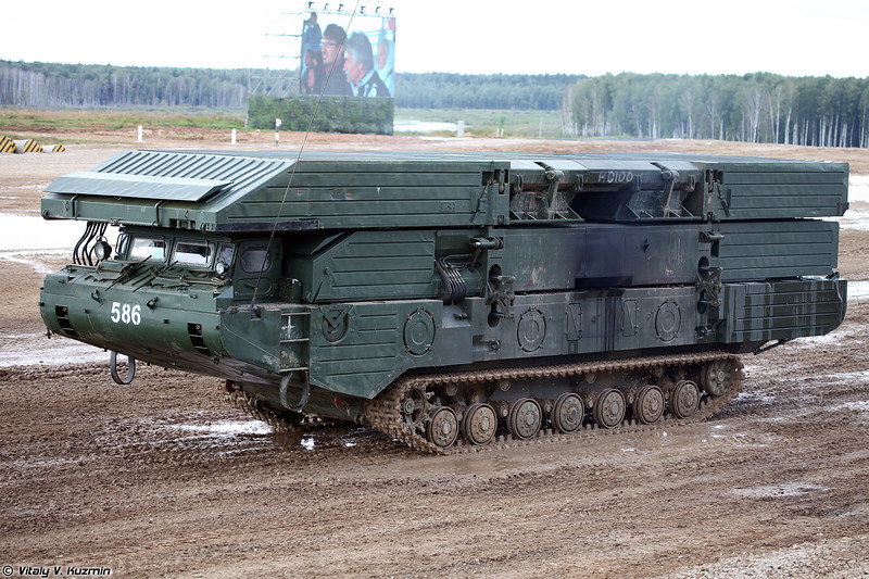 Паромно-мостовая машина ПММ-2М (PMM-2M self-propelled ferry vehicle)