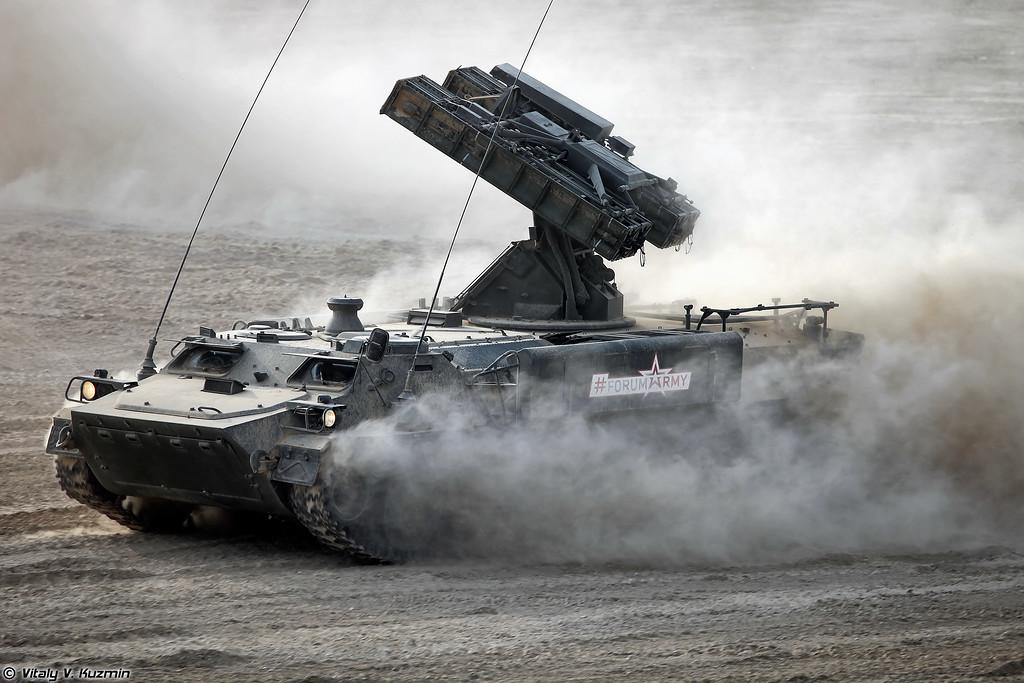 ЗРК 9К35М3 Стрела-10М3 (9K35M3 Strela-10M3 SAM system)