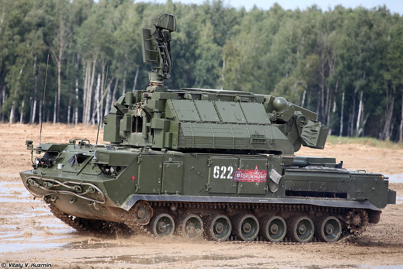 Боевая машина 9А331М ЗРК 9К331М Тор-М2 (9A331M combat vehicle 9K331M Tor-M2)