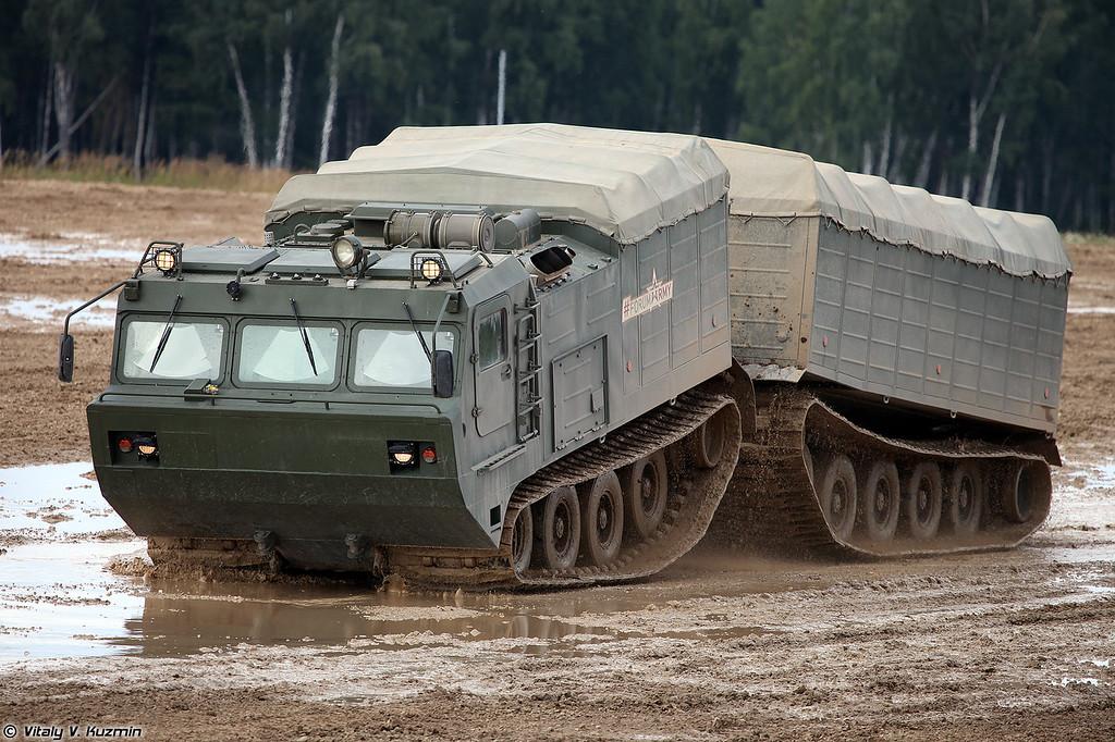 Транспортер ДТ-10ПМ (DT-10PM tracked vehicle)