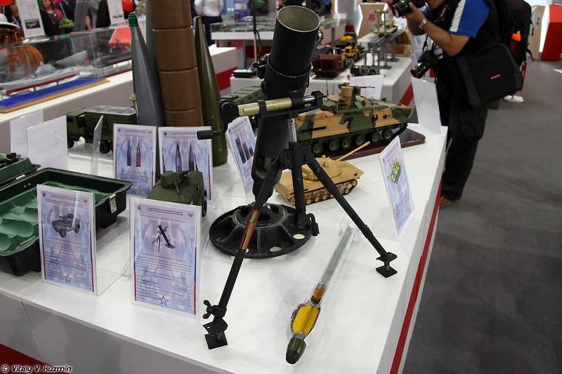 82-мм бесшумный миномёт 2Б25 Галл ОКР Супермодель (82mm mortar 2B25 Gall Project Supermodel)