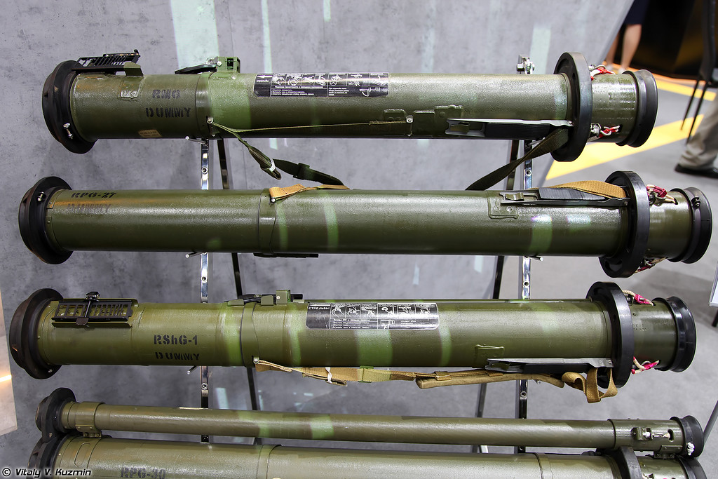 РМГ, РПГ-27 и РШГ-1 (RMG, RPG-27 and RShG-1 grenade launchers)