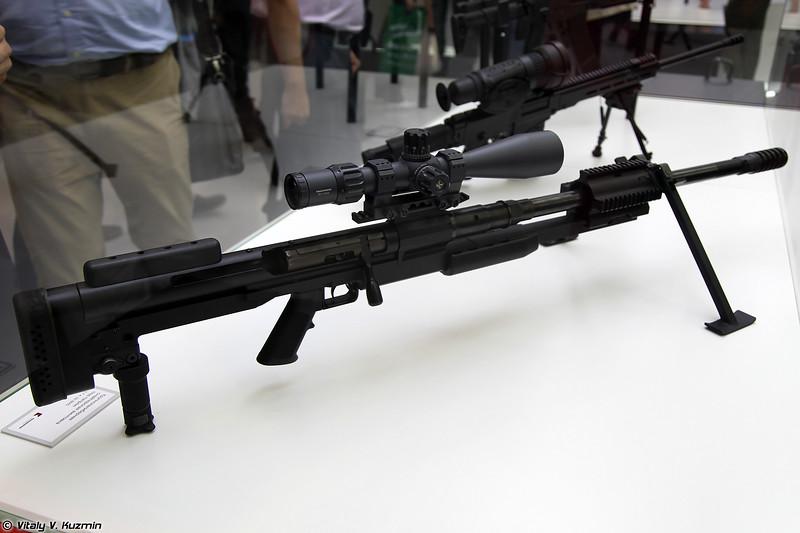 Прототип новой 12.7мм снайперской винтовки (Prototype of new 12.7 sniper rifle)