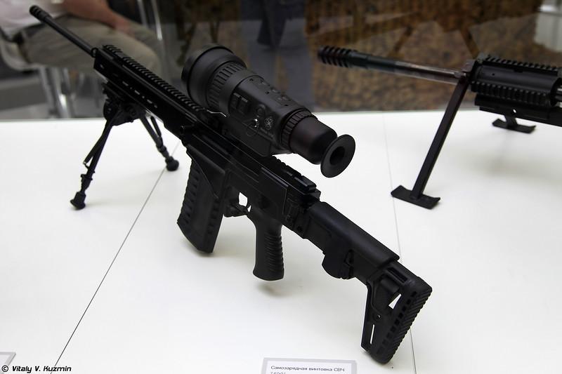 Снайперская винтовка СВЧ (SVCh sniper rifle)