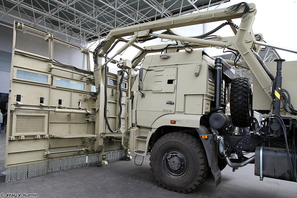 Спецмашина Щит / Комплекс Стена (Special vehicle Schit /Stena system)