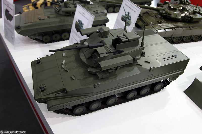БМП-3 с боевым модулем Эпоха (BMP-3 with Epokha turret)