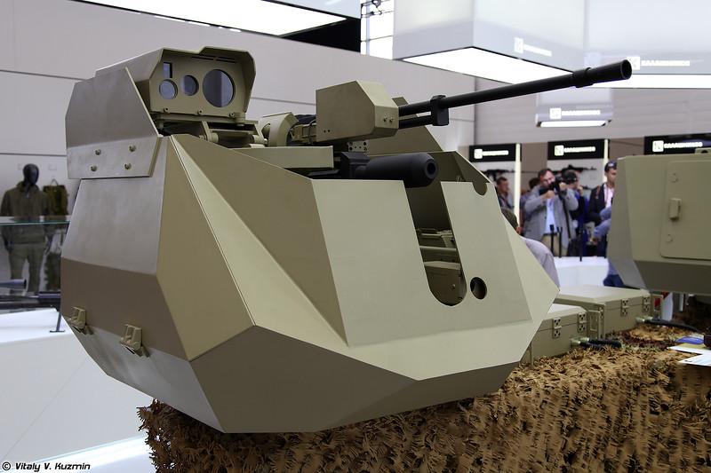 Боевой дистанционно-управляемый модуль Корнет (Kornet remote weapon station)