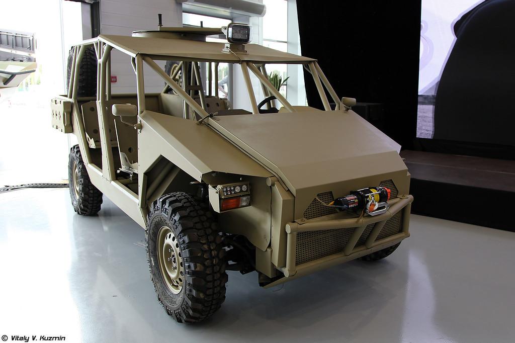 Концепт Багги Турист (Prototype of Turist dune buggy)