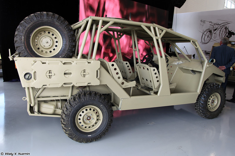 Концепт Багги Турист (Prototype of Turist dune buggy)