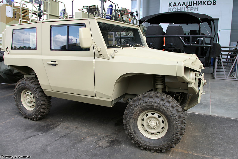 Концепт Росомаха (Rosomakha light tactical vehicle prototype)