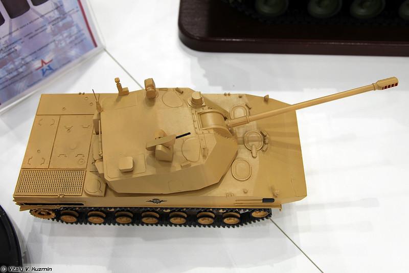 120-мм самоходное артиллерийское орудие 2С42 ОКР Лотос (120mm self-propelled artillery 2S42 Lotos)