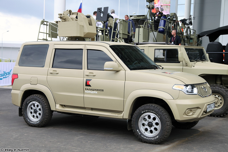 УАЗ Патриот с боевым модулем (UAZ Patriot with remote weapon station)