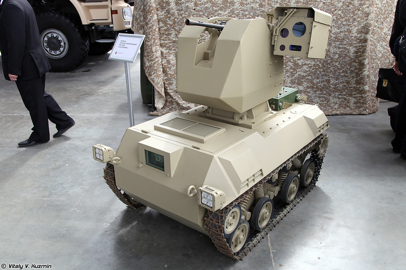 Боевая автоматизированная система Нахлебник (Nakhlebnik combat UGV)