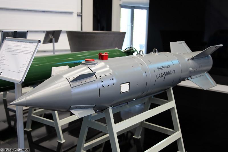 Корректируемая авиационная бомба КАБ-500С (KAB-500S guided bomb)