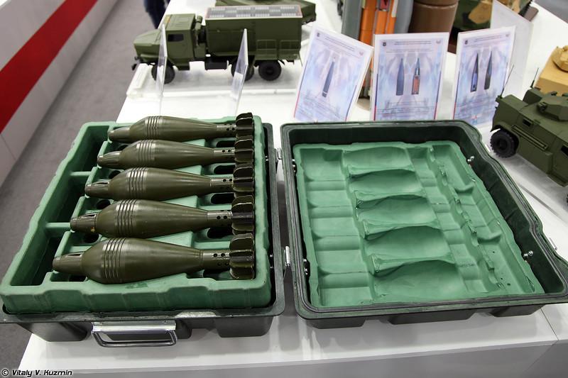 Тара для 82-мм минометных выстрелов по ОКР Тара (Container for 82mm rounds Project Tara)
