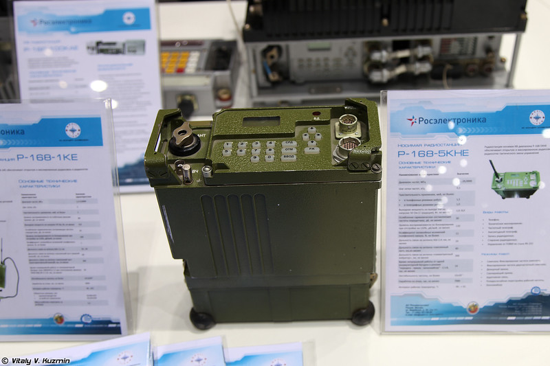 Радиостанция Р-168-5КНЕ (R-168-5KNE radio)