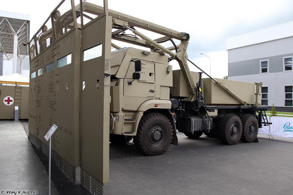 Спецмашина Щит / Комплекс Стена (Special vehicle Schit / Stena system)