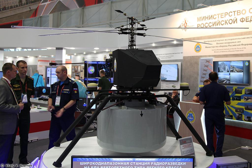 Станция радиоразведки на базе БПЛА Ворон-120РЭБ (Voron-120REB ECM UAV)