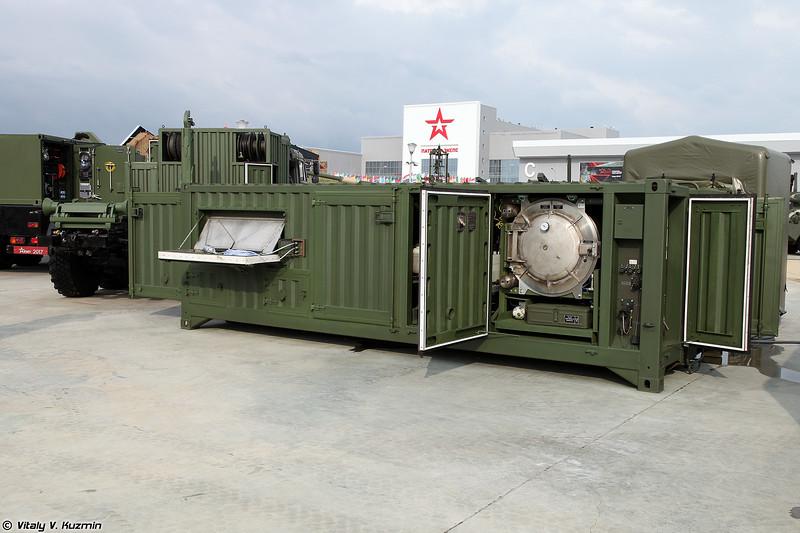 Универсальная станция специальной обработки УССО (USSO decontamination station)