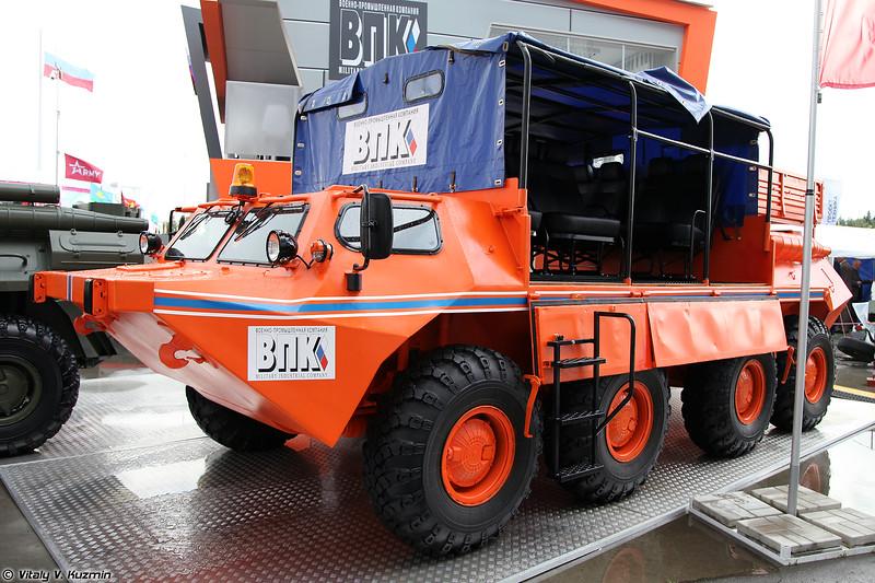 Вездеходная плавающая машина 59037 / ГАЗ-59037 (GAZ-59037 all-terrain vehicle)