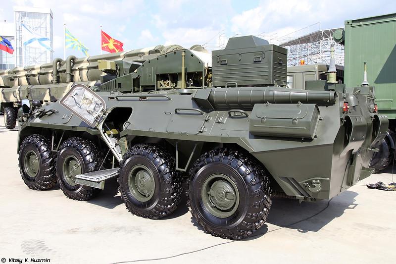 Боевая противодиверсионная машина БПДМ 15Ц56М Тайфун-М (Counter-sabotage combat vehicle BPDM 15Ts56M Typhoon-M)