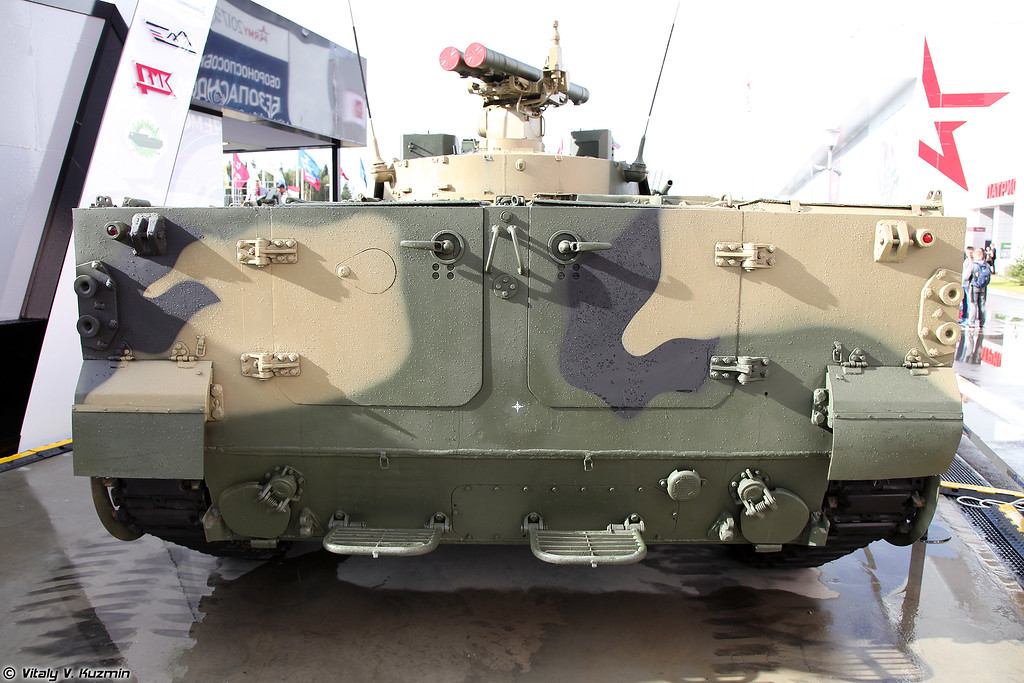 БМП-3 с ПУ для ПТУР 9М120-1 Атака (BMP-3 with 9M120-1 Ataka ATGM)