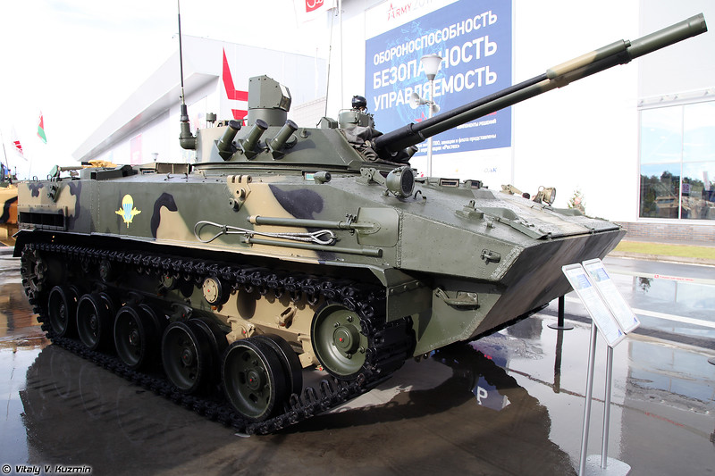 БМД-4М с боевым модулем Синица (BMD-4M with Sinitsa turret)
