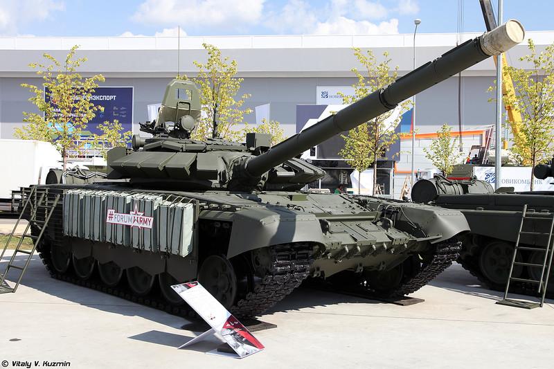 Танк Т-72Б3 обр. 2016 (T-72B3 mod. 2016)