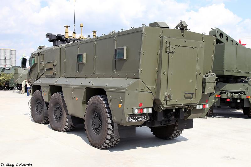 Бронеавтомобиль К-63968 / КАМАЗ-63968 Тайфун-К с боевым модулем (K-63968 / KAMAZ-63968 Typhoon-K with remotely controlled weapon station)