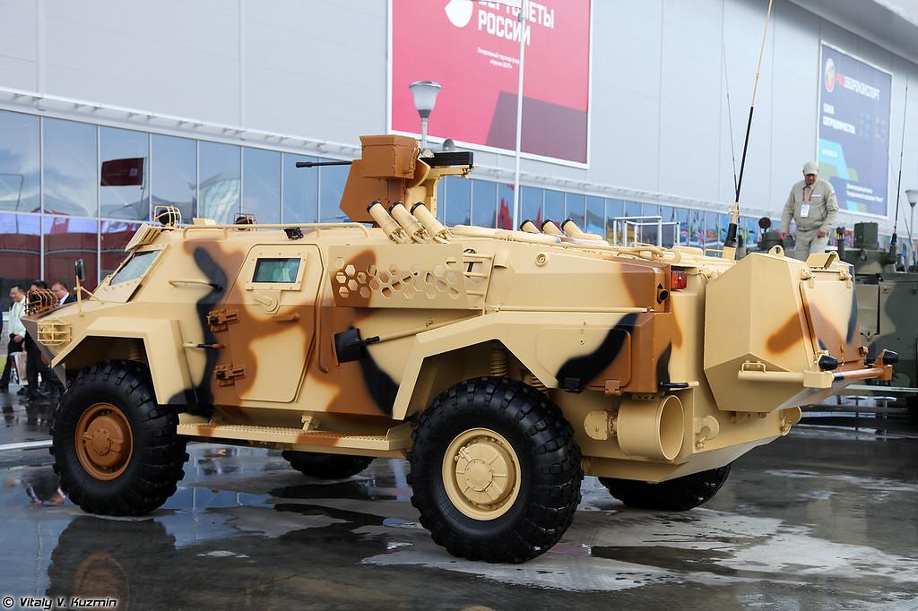 Мобильное бронированное транспортное средство Кайман (Cayman armored vehicle)