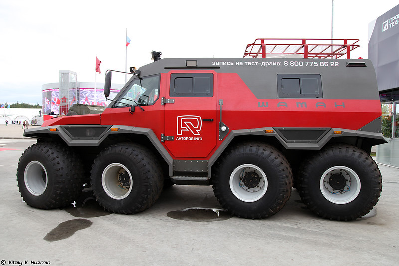 Вездеход Шаман (Shaman all-terrain vehicle)