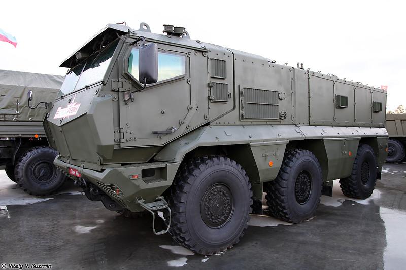 Бронеавтомобиль К-63968 / КАМАЗ-63968 Тайфун-К (K-63968 / KAMAZ-63968 Typhoon-K)