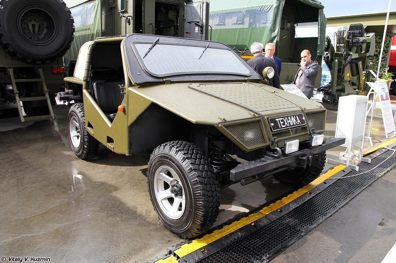 Высокомобильное колесное транспортное средство ВКТС Охотник (Okhotnik light tactical vehicle)