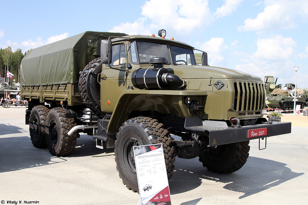 Урал-4320-31 в климатическом исполнении ХЛ для низких температур (Ural-4320-31 in HL climatic version for cold temperatures)